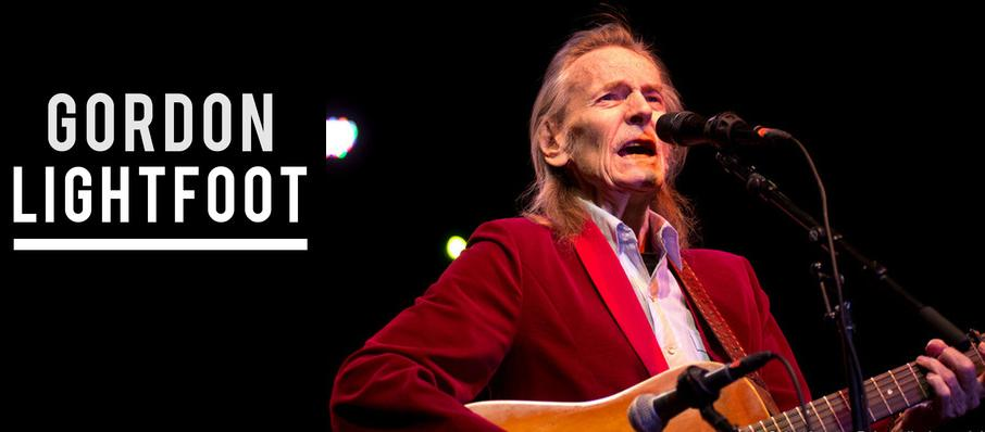 Gordon Lightfoot at Saenger Theatre
