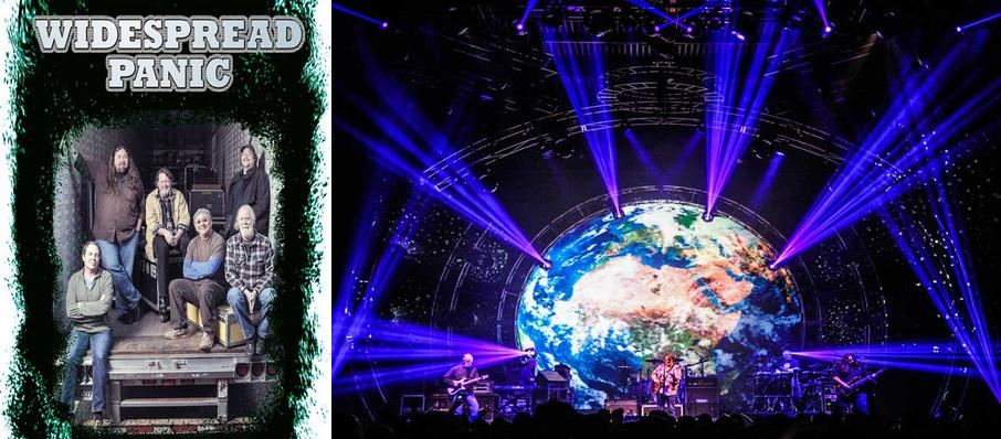 Widespread Panic at Pensacola Civic Center