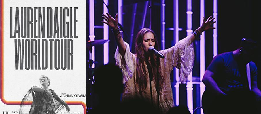 Lauren Daigle at Pensacola Bay Center