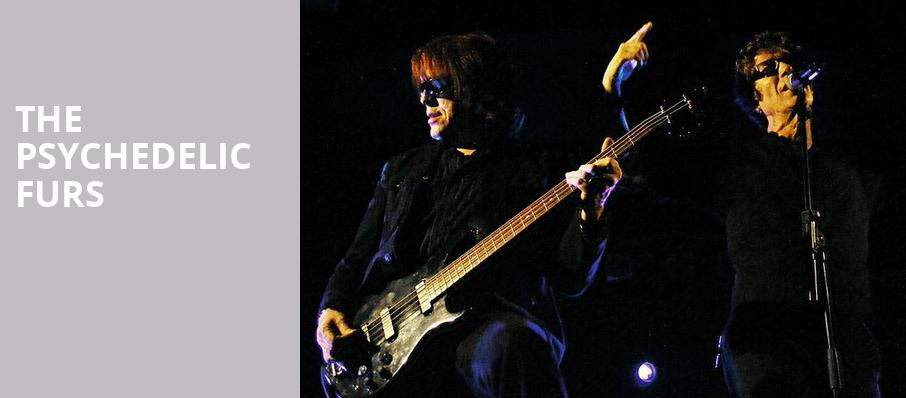 The Psychedelic Furs, Vinyl Music Hall, Pensacola